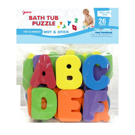 1326a Bath Tub Puzzle Alphabets Sunta Sun Ta Toys